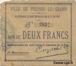 2 Francs FRANCE régionalisme et divers  1915 JP.02-1012 TTB