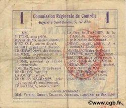 1 Franc FRANCE régionalisme et divers  1916 JP.02-1021.BRU TTB