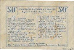 50 Centimes FRANCE régionalisme et divers  1916 JP.02-1021.BRU TTB