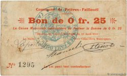 25 Centimes FRANCE regionalism and various  1915 JP.02-1025 F