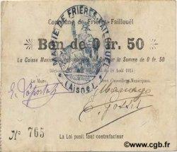 50 Centimes FRANCE régionalisme et divers  1915 JP.02-1026 TTB