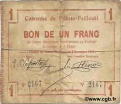 1 Franc FRANCE régionalisme et divers  1915 JP.02-1031 TB