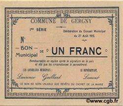 1 Franc FRANCE régionalisme et divers  1915 JP.02-1042 pr.NEUF