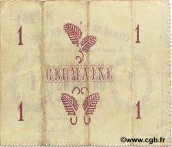 1 Franc FRANCE régionalisme et divers GERMAINE 1915 JP.02-1052 TTB