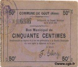 50 Centimes FRANCE régionalisme et divers GOUY 1915 JP.02-1068 TTB+