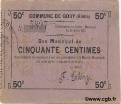 50 Centimes FRANCE régionalisme et divers  1915 JP.02-1071 TTB+