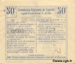 50 Centimes FRANCE régionalisme et divers GOUY 1916 JP.02-1074.BRU pr.NEUF
