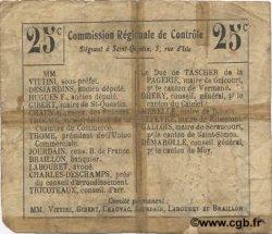 25 Centimes FRANCE régionalisme et divers  1916 JP.02-1074.BRU B+