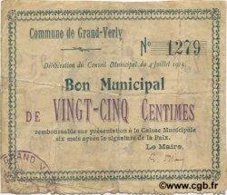 25 Centimes FRANCE régionalisme et divers  1915 JP.02-1077 TB