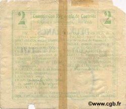 2 Francs FRANCE régionalisme et divers  1916 JP.02-1085.BRU B