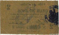 2 Francs FRANCE régionalisme et divers  1915 JP.02-1103 TTB+