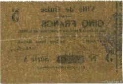 5 Francs FRANCE régionalisme et divers GUISE 1915 JP.02-1104 TTB+