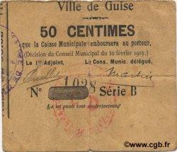 50 Francs FRANCE régionalisme et divers GUISE 1915 JP.02-1106 TB+