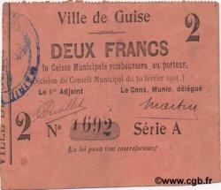 2 Francs FRANCE régionalisme et divers  1915 JP.02-1108 TTB