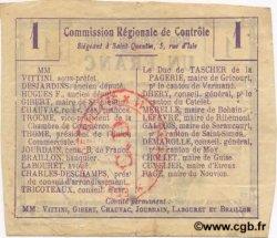 1 Franc FRANCE régionalisme et divers  1916 JP.02-1123.BRU TTB