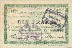 10 Francs FRANCE régionalisme et divers GUISE 1916 JP.02-1125.SQG SUP