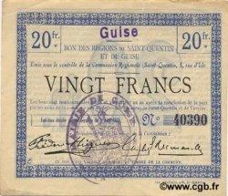 20 francs FRANCE régionalisme et divers  1916 JP.02-1125.SQG TTB+