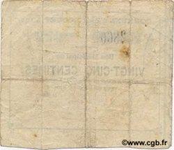 25 Centimes FRANCE régionalisme et divers  1915 JP.02-1143 TB