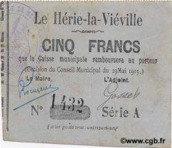 5 Francs FRANCE régionalisme et divers  1915 JP.02-1169 TTB