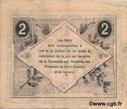 2 Francs FRANCE régionalisme et divers HERIE LA VIEVILLE (LE) 1917 JP.02-1172SQG TTB