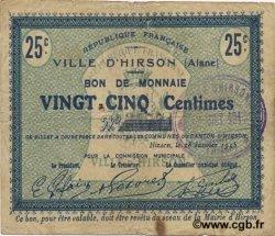 25 Centimes FRANCE régionalisme et divers  1915 JP.02-1177 TB+