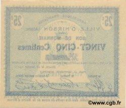 25 Centimes FRANCE régionalisme et divers  1915 JP.02-1177 pr.NEUF