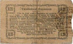 25 Centimes FRANCE régionalisme et divers Hirson 1917 JP.02-1194 B+