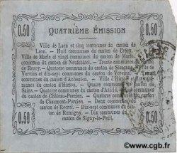 50 Centimes FRANCE régionalisme et divers  1917 JP.02-1202 TTB+