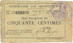 50 Centimes FRANCE régionalisme et divers  1915 JP.02-1244 B