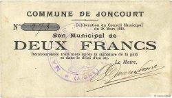 2 Francs FRANCE régionalisme et divers  1915 JP.02-1253 TTB