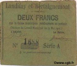 2 Francs FRANCE régionalisme et divers  1915 JP.02-1263 TB+