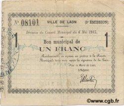 1 Franc FRANCE régionalisme et divers  1915 JP.02-1277 TTB
