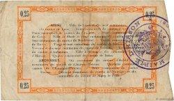 25 Centimes FRANCE régionalisme et divers LAON 1915 JP.02-1300 TTB