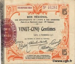 25 Centimes FRANCE régionalisme et divers  1915 JP.02-1300 TTB