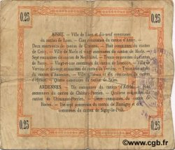 25 Centimes FRANCE régionalisme et divers LAON 1915 JP.02-1300 TB
