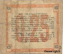 25 Centimes FRANCE régionalisme et divers  1915 JP.02-1300 TB