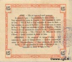 25 Centimes FRANCE régionalisme et divers LAON 1915 JP.02-1300 SUP+