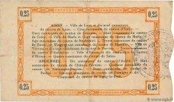 25 Centimes FRANCE LAON 1915 JP.02-1300