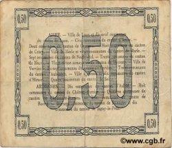 50 Centimes FRANCE régionalisme et divers  1915 JP.02-1301 TTB