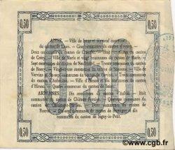 50 Centimes FRANCE régionalisme et divers LAON 1915 JP.02-1301 SUP