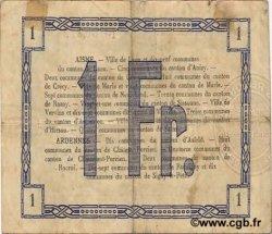 1 Franc FRANCE régionalisme et divers LAON 1915 JP.02-1302 TTB