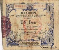 1 Franc FRANCE régionalisme et divers LAON 1915 JP.02-1302 TB