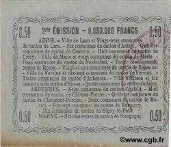50 Centimes FRANCE régionalisme et divers LAON 1916 JP.02-1308 TTB