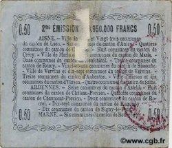 50 Centimes FRANCE régionalisme et divers  1916 JP.02-1308 TB+