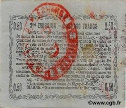 50 Centimes FRANCE régionalisme et divers LAON 1916 JP.02-1308 TTB+
