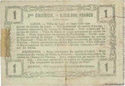 1 Franc FRANCE régionalisme et divers  1916 JP.02-1309 TB+