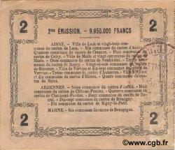 2 Francs FRANCE régionalisme et divers  1916 JP.02-1310 TTB