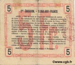 5 Francs FRANCE régionalisme et divers  1916 JP.02-1311 TTB