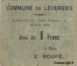 1 Franc FRANCE régionalisme et divers  1914 JP.02-1372 TTB