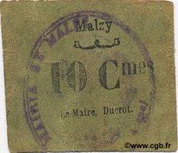 10 Centimes FRANCE régionalisme et divers MALZY 1916 JP.02-2646a TTB